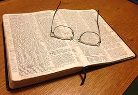 An open Bible and an open heart are excellent qualities of a Christian.